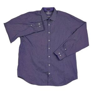 Other - Bugatchi Uomo Long Sleeve Button Front Shirt